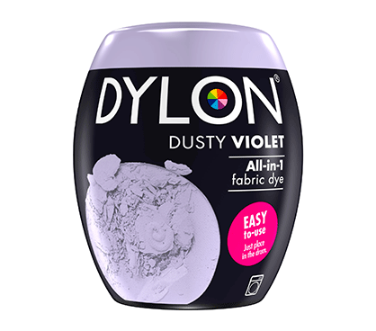 DYLON Dusty Violet All-In-1 Fabric Dye Pod 350g