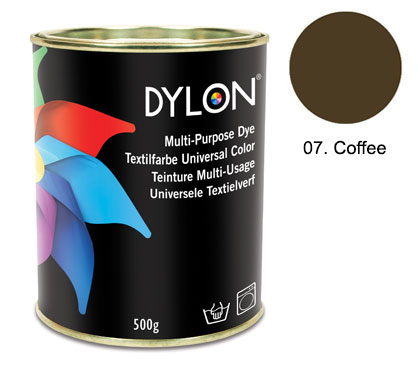 Dylon Coffee Brown Multi-Purpose Dye 500g