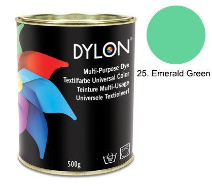 Dylon Emerald Green Multi-Purpose Dye 500g