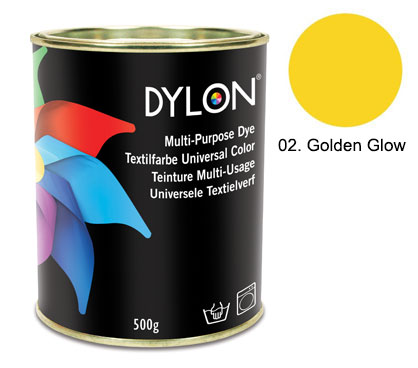 Dylon Golden Glow  Multi-Purpose Dye 500g