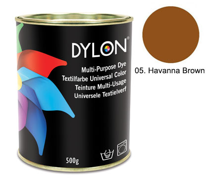 Dylon Havanna Brown Multi-Purpose Dye 500g
