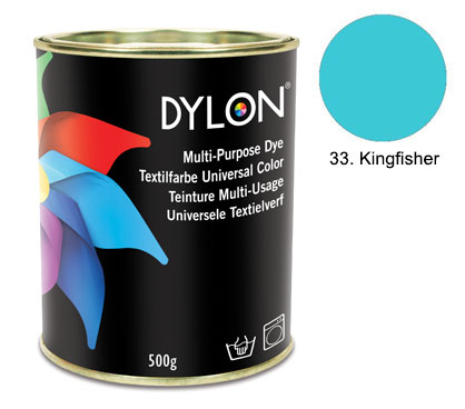Dylon Kingfisher Blue Multi-Purpose Dye 500g