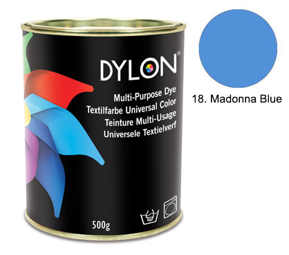 Dylon Madonna Blue Multi-Purpose Dye 500g