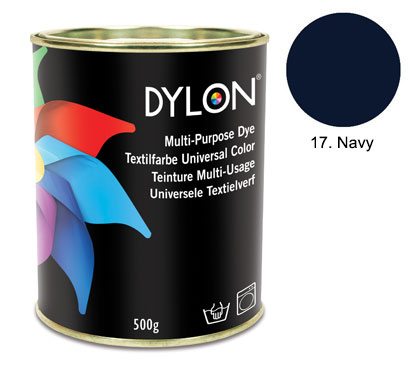 Dylon Navy Blue Multi-Purpose Dye 500g