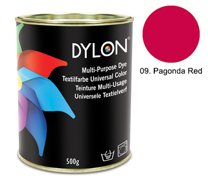 Dylon Pagoda Red Multi-Purpose Dye 500g