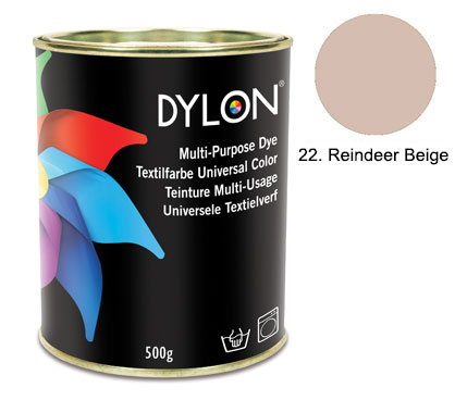 Dylon Reindeer Beige Multi-Purpose Dye 500g