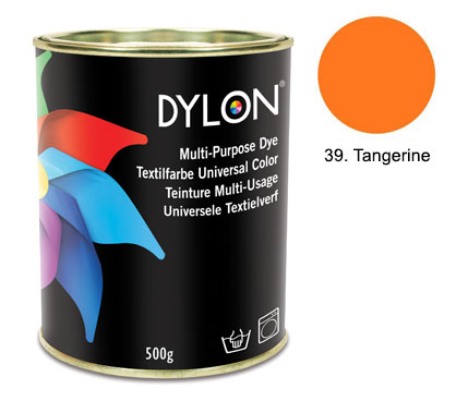 Dylon Tangerine Orange Multi-Purpose Dye 500g