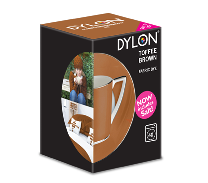Dylon Toffee Brown Fabric Dye