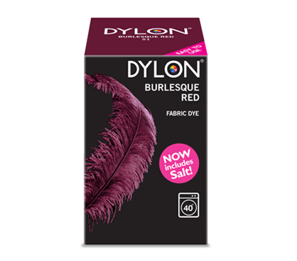 Dylon Burlesque Red Fabric Dye