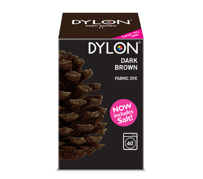 Dylon Dark Brown Fabric Dye