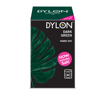 Dylon Dark Green Fabric Dye