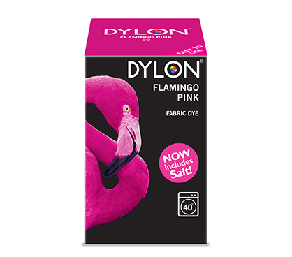 Dylon Flamingo Pink Fabric Dye