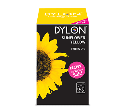 Dylon Sunflower Yellow Fabric Dye