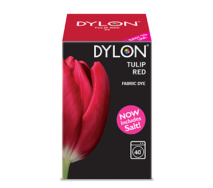 Dylon Tulip Red Fabric Dye