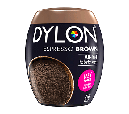DYLON Espresso Brown All-In-1 Fabric Dye Pod 350g