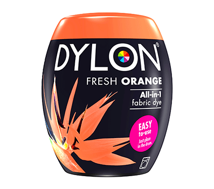 DYLON Fresh Orange All-In-1 Fabric Dye Pod 350g