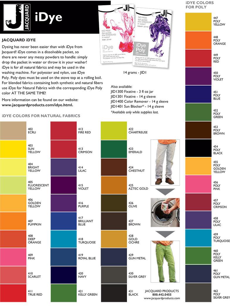 Idye Fabric Dye The Dye Shop