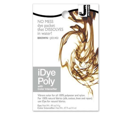 IDye Poly Brown Polyester Dye