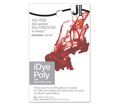 IDye Poly Crimson Red Polyester Dye