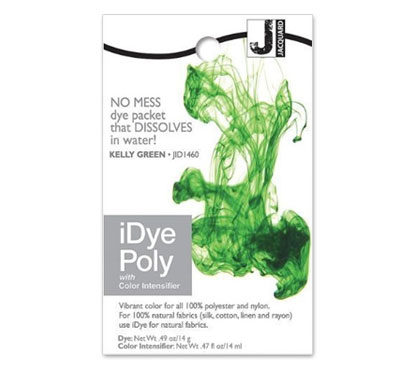 IDye Poly Kelly Green Polyester Dye
