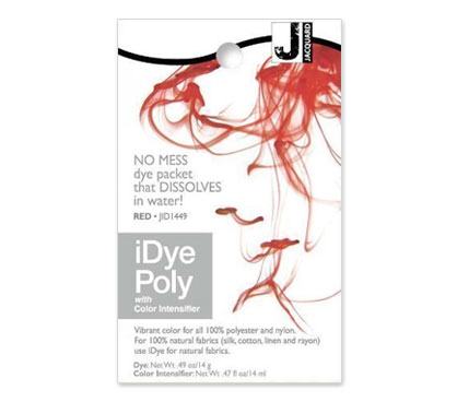 IDye Poly Red Polyester Dye