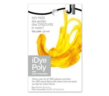 IDye Poly Yellow Polyester Dye