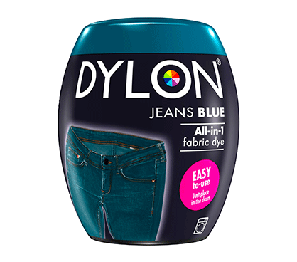 DYLON Jeans Blue All-In-1 Fabric Dye Pod 350g