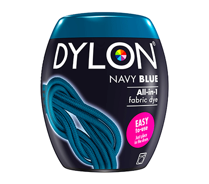 DYLON Navy Blue All-In-1 Fabric Dye Pod 350g