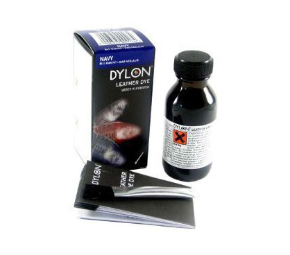 Dylon Navy Blue Leather Shoe Dye