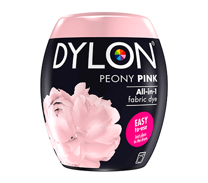 DYLON Peony Pink All-In-1 Fabric Dye Pod 350g