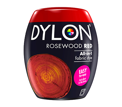 DYLON Rosewood Red All-In-1 Fabric Dye Pod 350g
