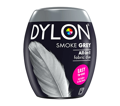 DYLON Smoke Grey All-In-1 Fabric Dye Pod 350g