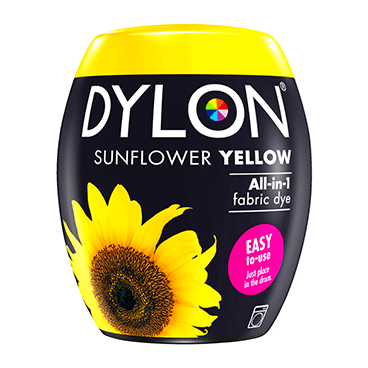 DYLON Sunflower Yellow All-In-1 Fabric Dye Pod 350g