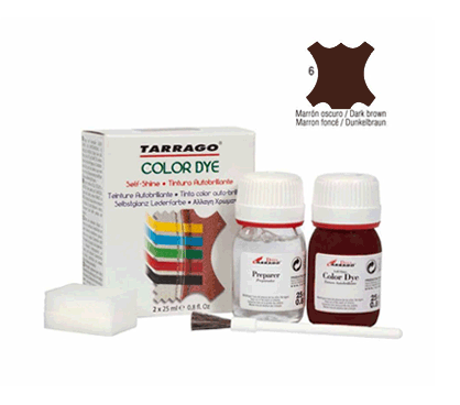 Tarrago Leather Dye Dark Brown