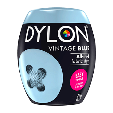 DYLON Vintage Blue All-In-1 Fabric Dye Pod 350g